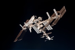 ISS and Endeavour
